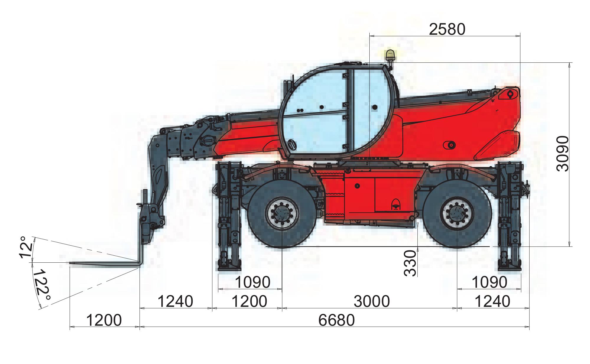 Magni RTH 521 SH Dimensions (1)