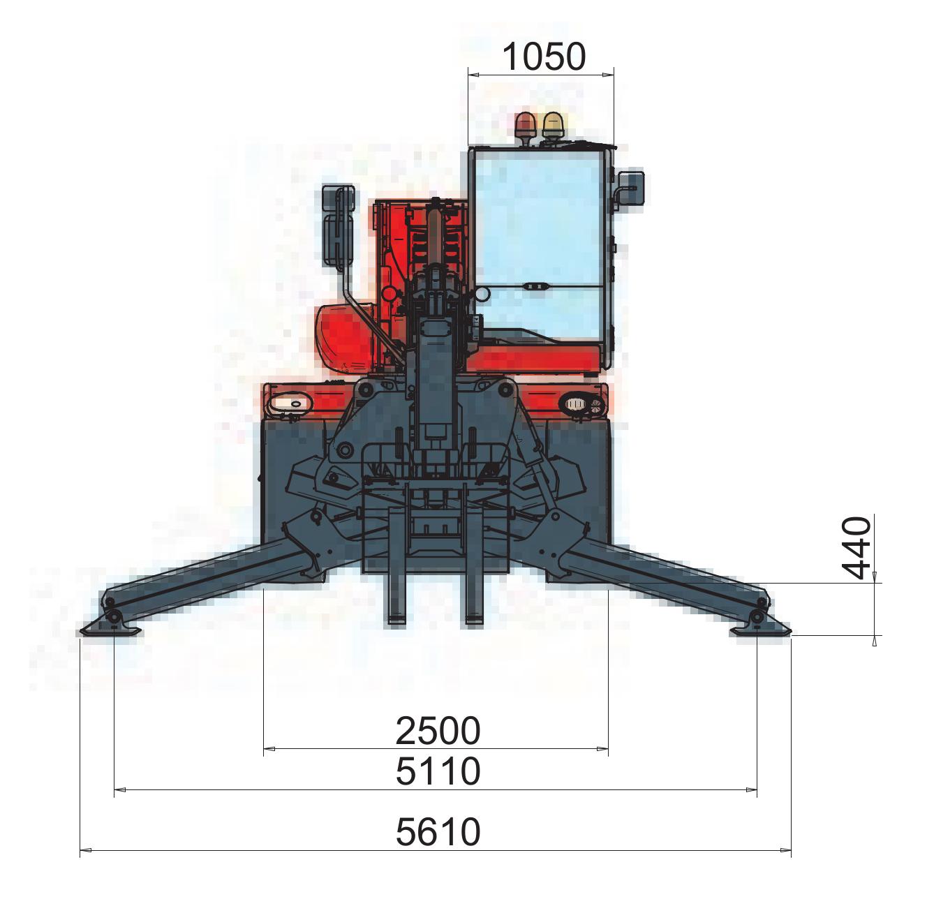 Magni RTH 521 SH Dimensions (2)