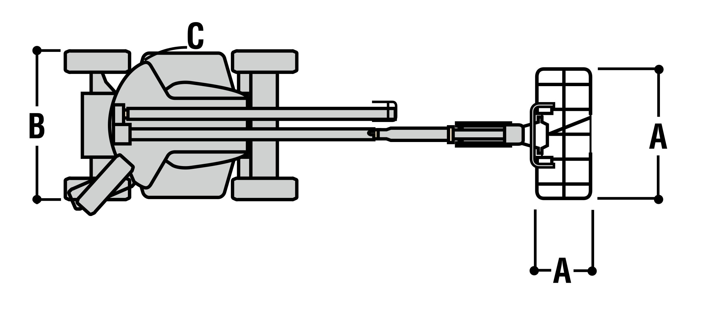 JLG E450AJ Dimensions (2)