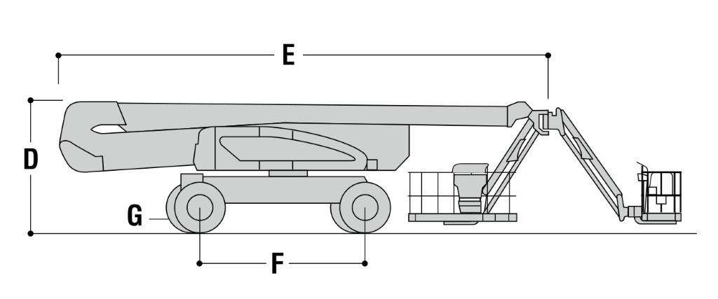 JLG 1250AJP Dimensions (2)