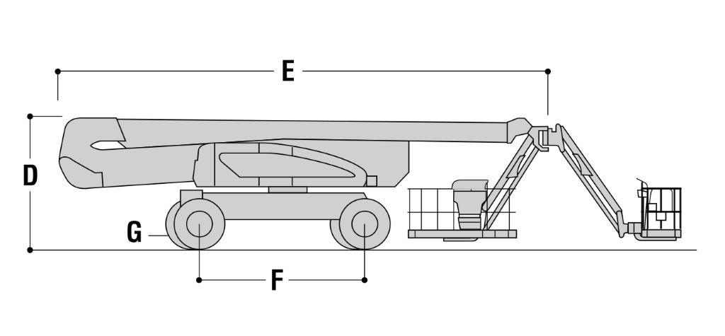 JLG 1500AJP Dimensions (2)