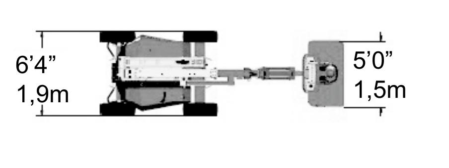 JLG 340AJ Dimensions (2)