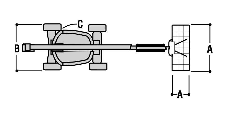 JLG 600AJ Dimensions (2)