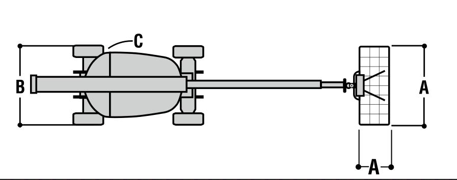 JLG 800A Dimensions (2)