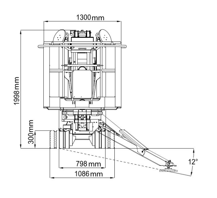 JLG X17J Plus Dimensions (1)