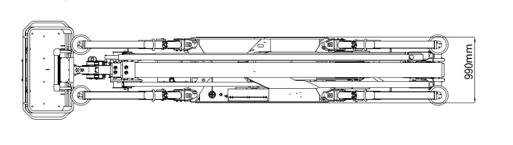 JLG X26J Plus Dimensions (3)