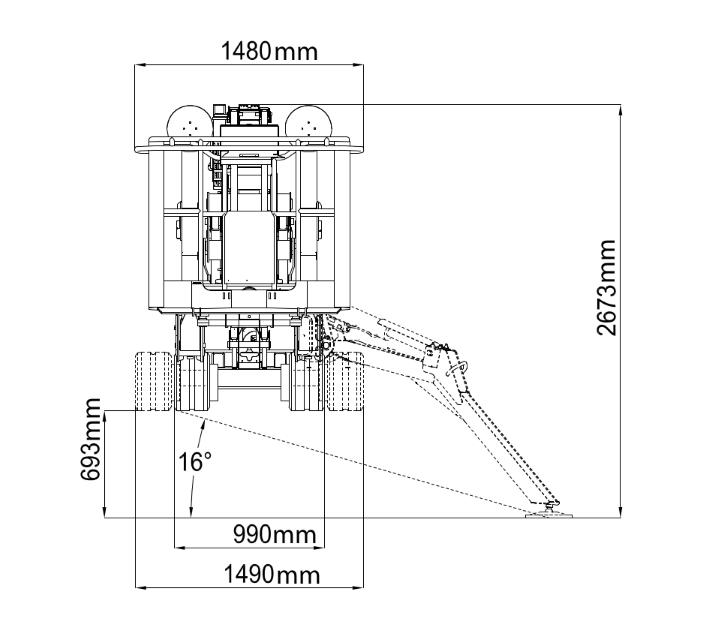 JLG X26J Plus Dimensions (4)