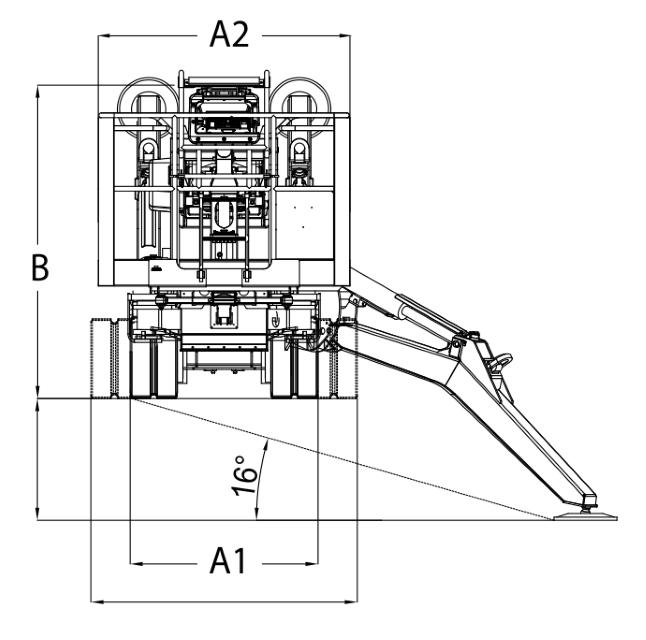 JLG X33J Plus Dimensions (1)