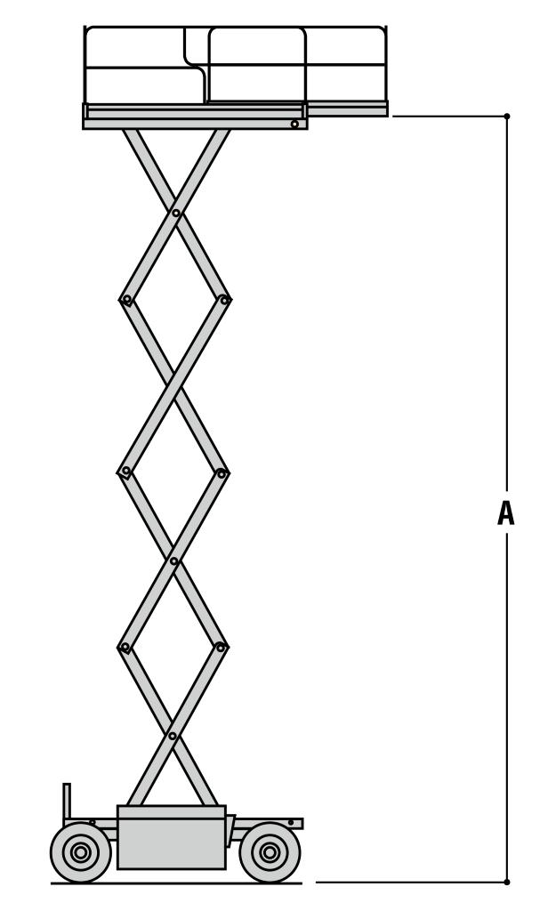 JLG 260MRT Dimensions (1)