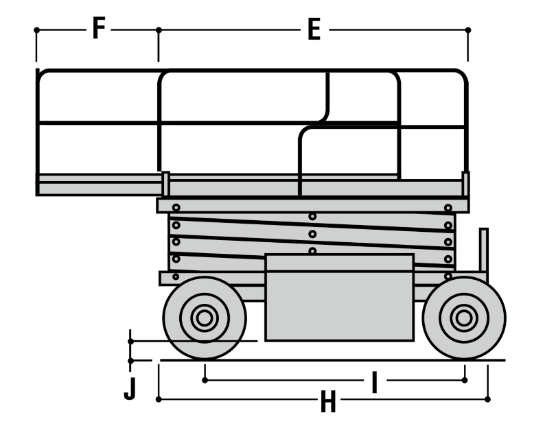 JLG 260MRT Dimensions (3)