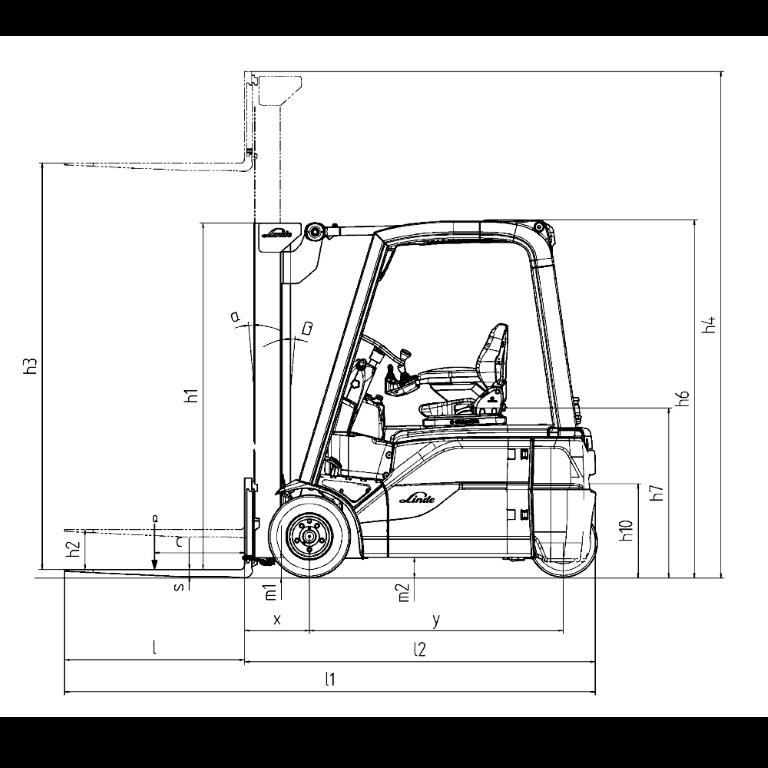Linde E - Trucks E 20L - E 12 Series 386_2 - Dimension(1)