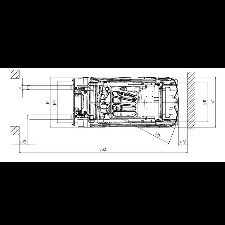 Linde E - Trucks E 35 - E 20 Series 387 - Dimension(2)