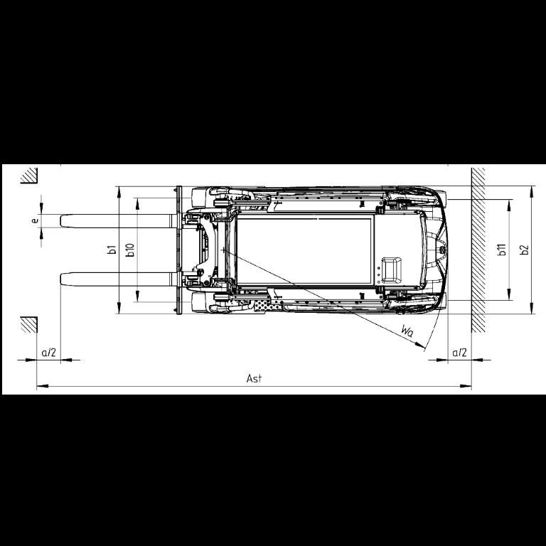 Linde E - Trucks E 35R - E 20R Series 387 - Dimension(2)