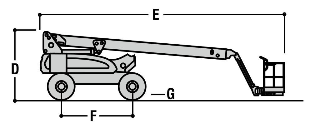 JLG M600J Dimensions (1)