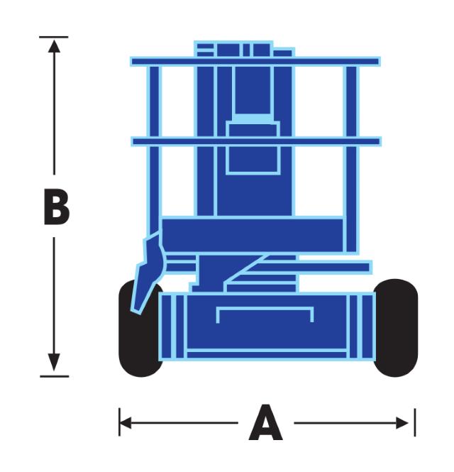 Upright AB38W Dimensions (1)