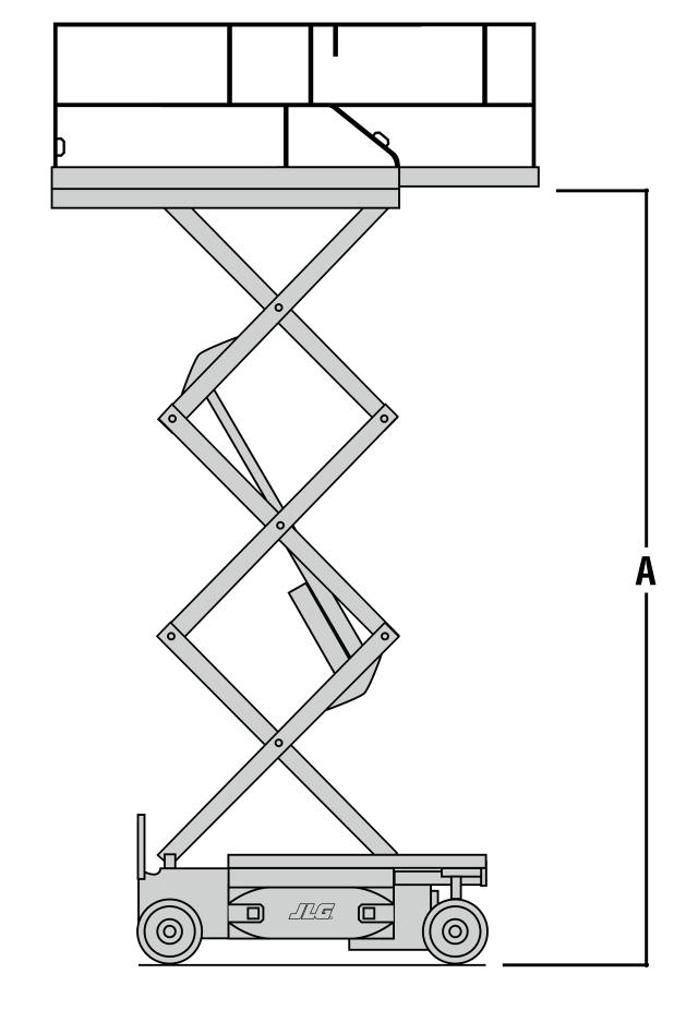 JLG 2032ES Dimensions (3)