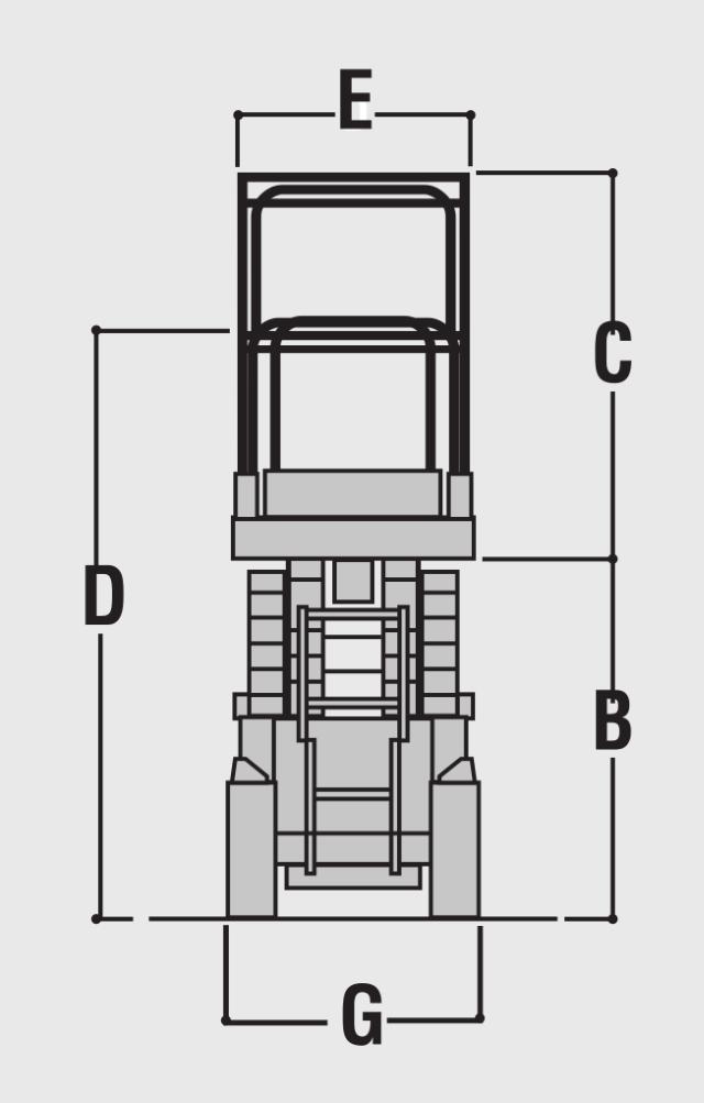 JLG 2630ES Dimensions (2)