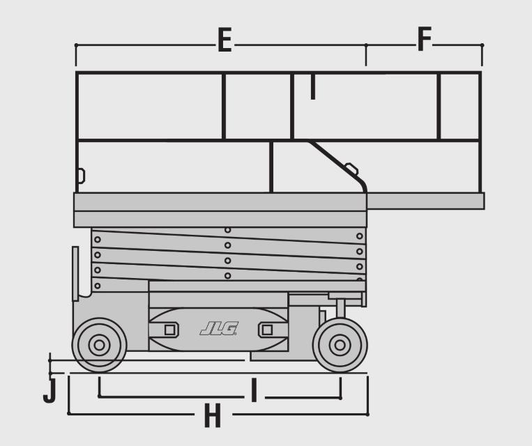 JLG 2630ES Dimensions (3)
