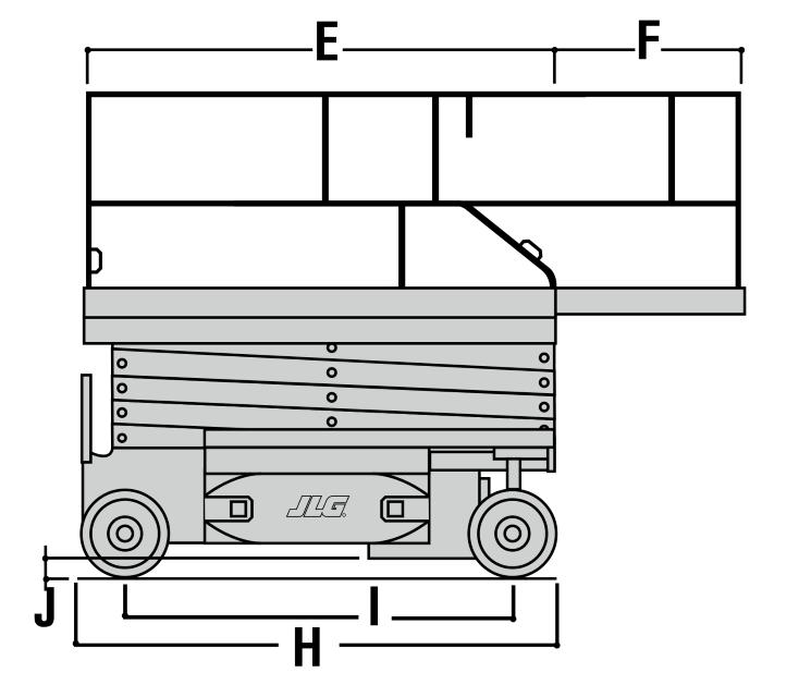 JLG 2646ES Dimensions (2)