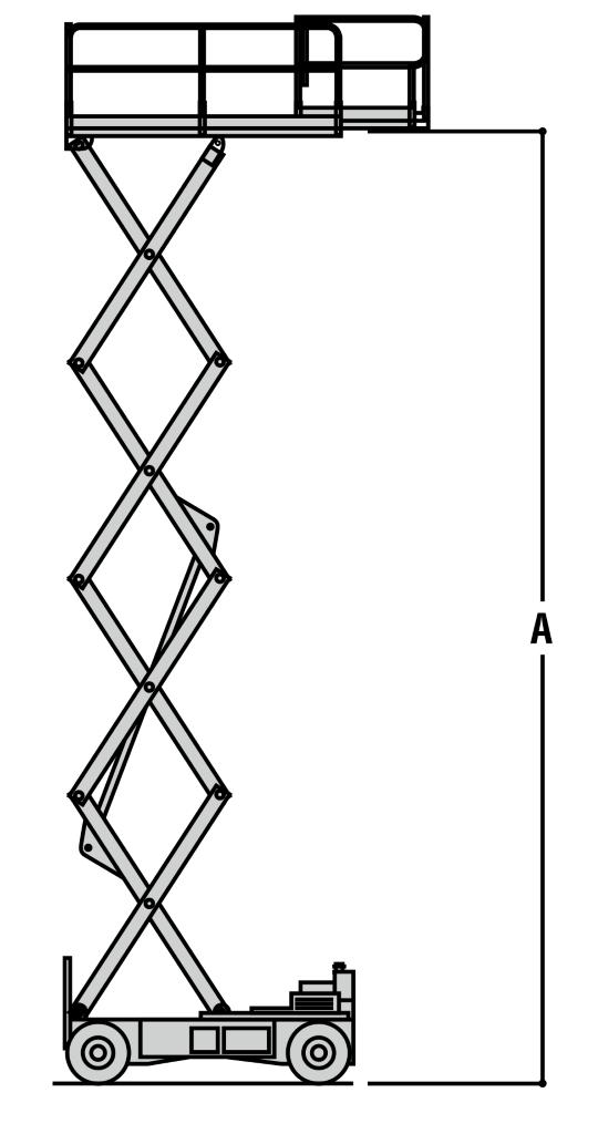 JLG 3369LE Dimensions (3)