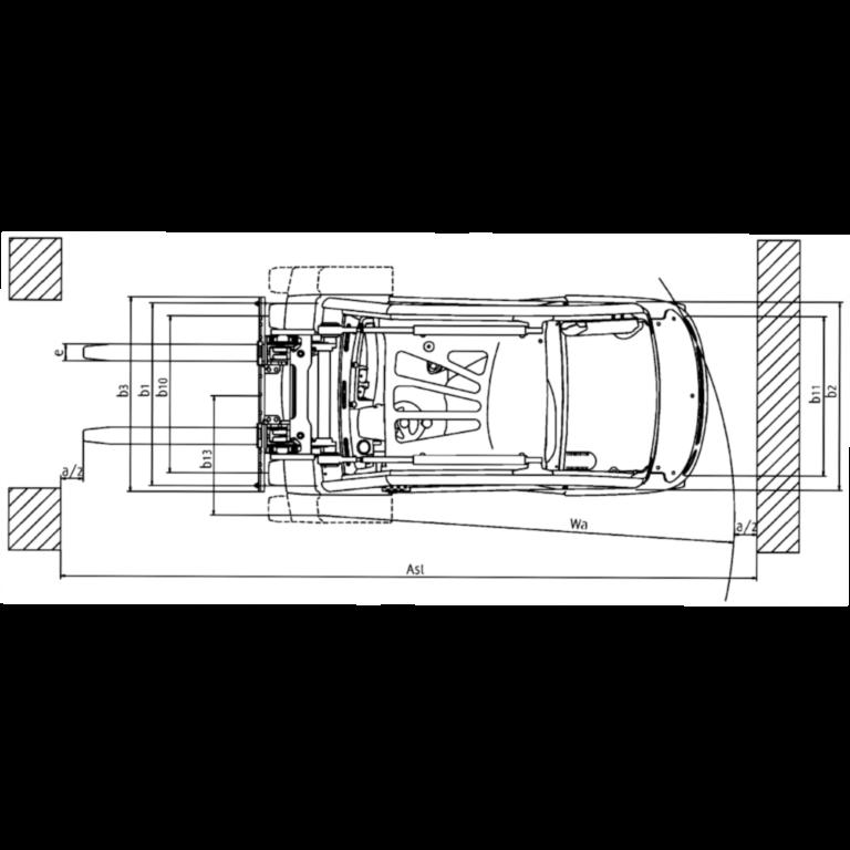 Linde IC - Trucks H 35D - H 25D Series 393_2 - Dimensions(3)