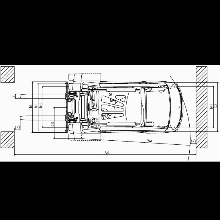 Linde IC - Trucks H 35T - H 25T Series 393_2 - Dimensions(2)