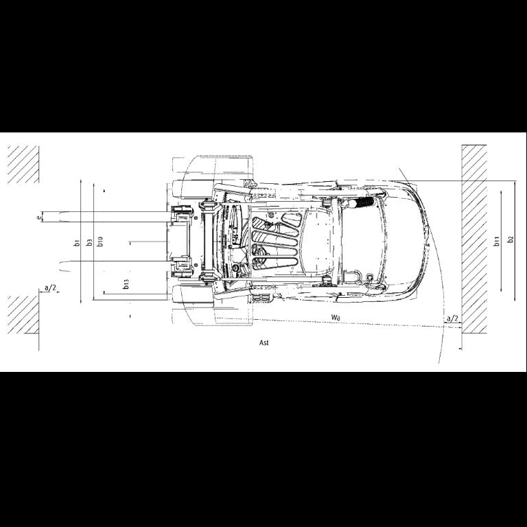 Linde IC - Trucks H 50D - H 40D Series 394_2 - Dimensions(4)