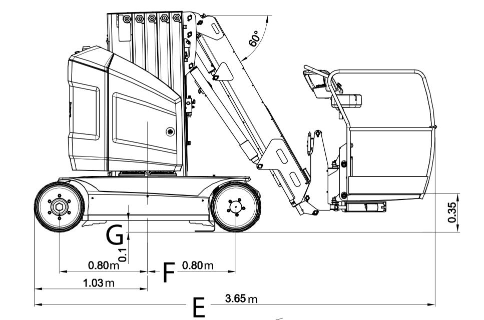 JLG Toucan 12E Dimensions (2)