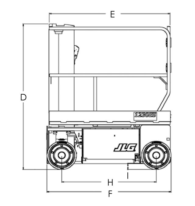 JLG 1230ES Dimensions (2)