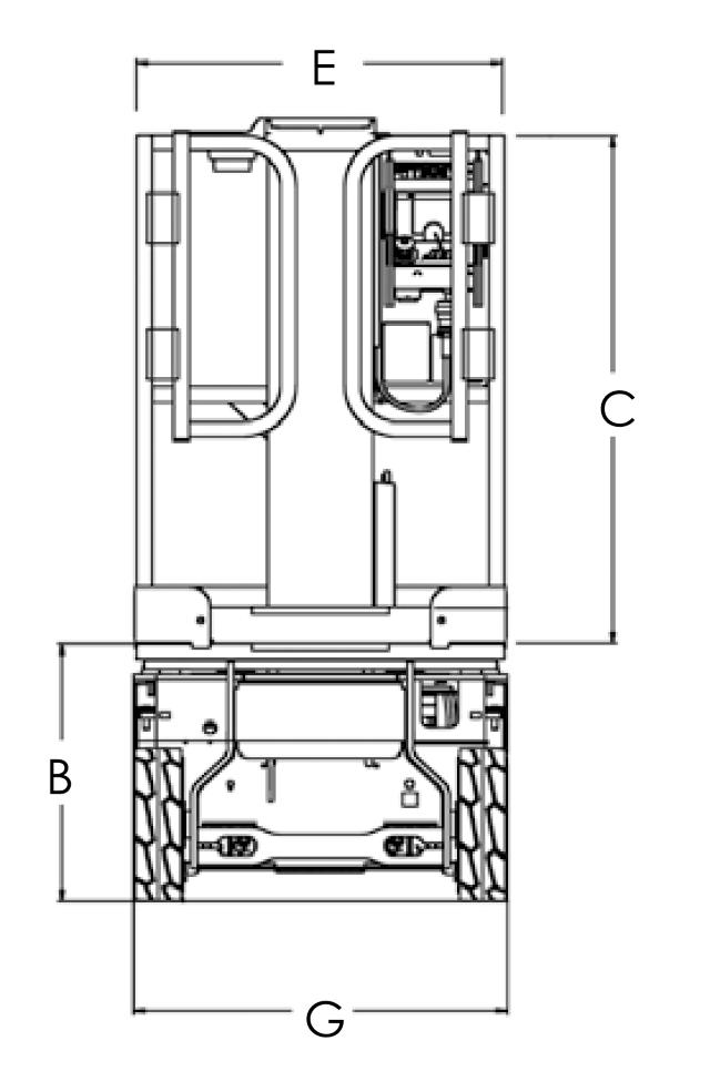 JLG 1230ES Dimensions (3)