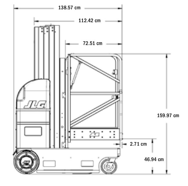 JLG 20MVL Dimensions (2)
