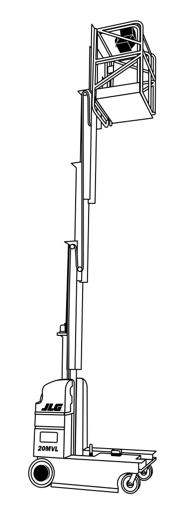JLG 20MVL Reach (1)