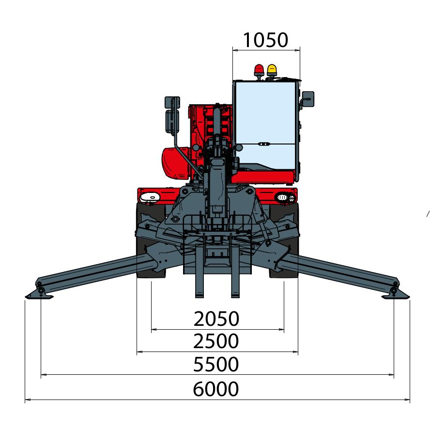 Magni RTH 526 S Dimensions (2)