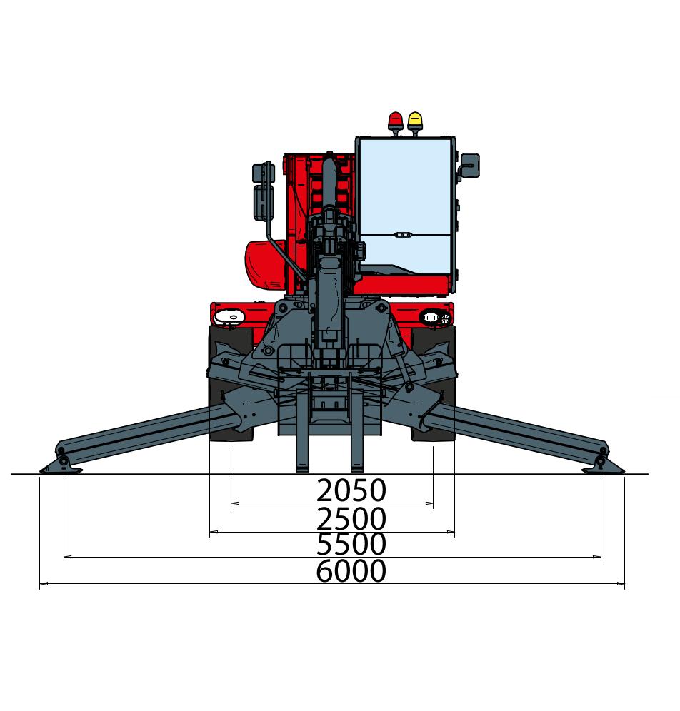 Magni RTH 530 S Dimensions (2)