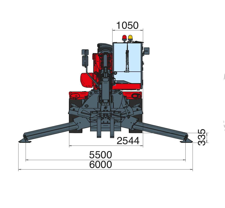Magni RTH 626 SH Dimensions (2)