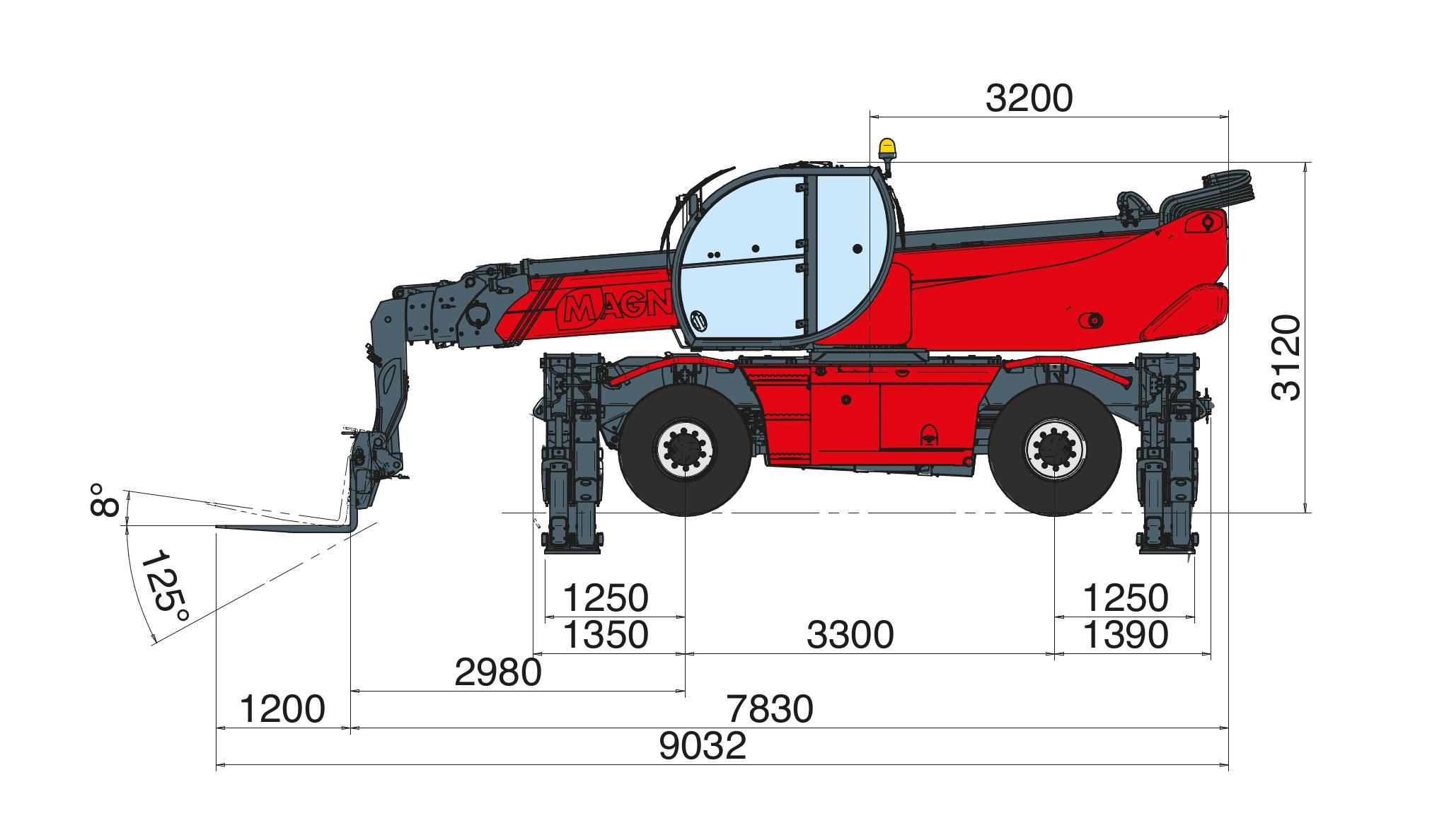 Magni RTH 626 SH Dimensions (3)