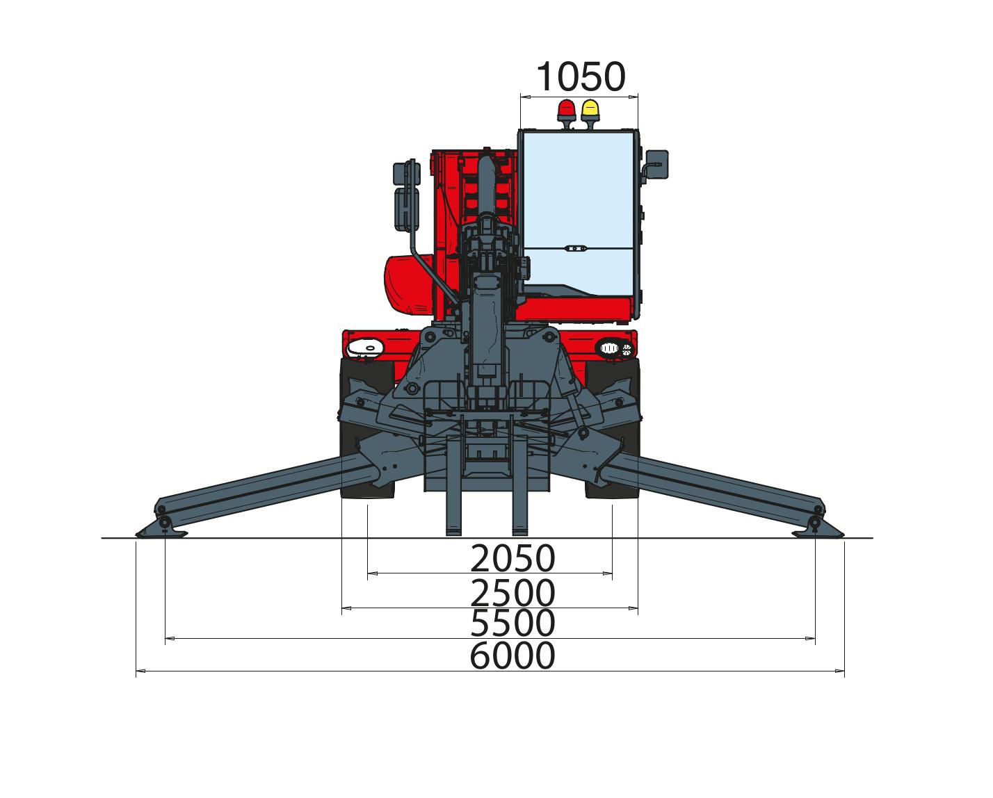 Magni RTH 630 SH Dimensions (2)