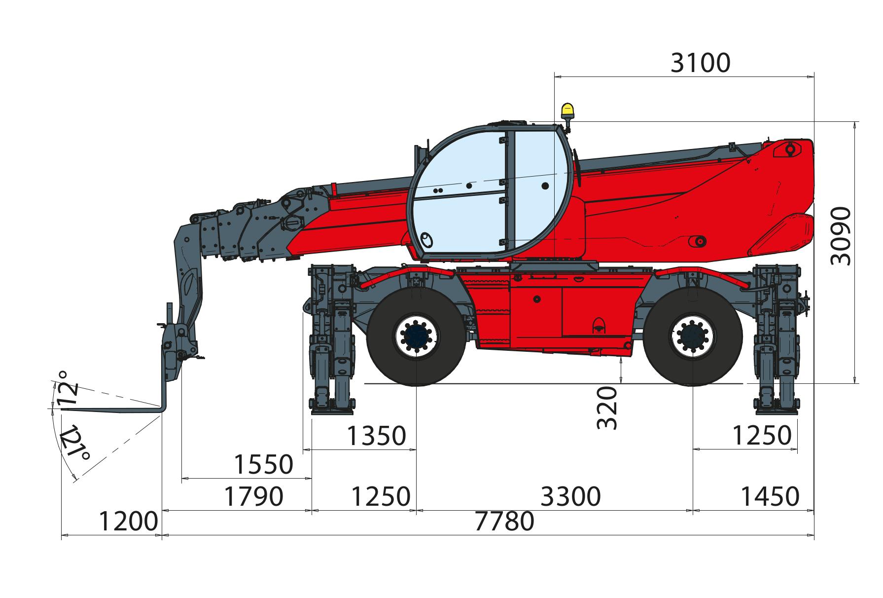 Magni RTH 630 SH Dimensions (3)