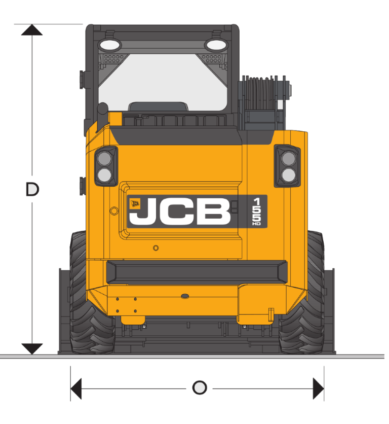 JCB SSL 135 HD - Dimensions (2)
