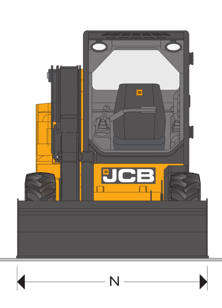 JCB SSL 135 HD - Dimensions (3)