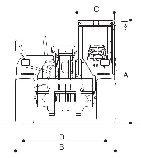 JLG 3512PS Dimensions (1)