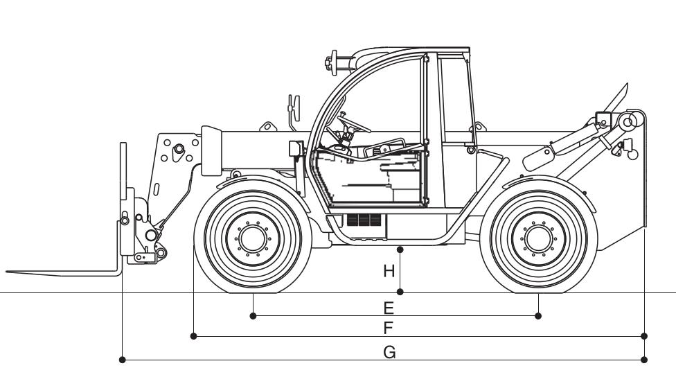 JLG 3512PS Dimensions (2)