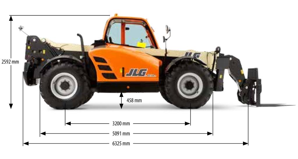 JLG 4014PS Dimensions (2)