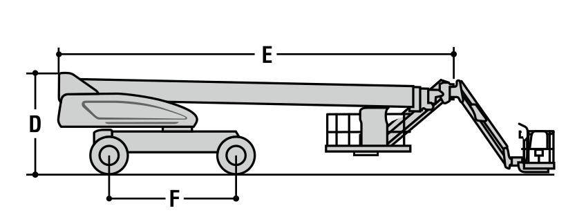 JLG 1200SJP Dimensions (2)