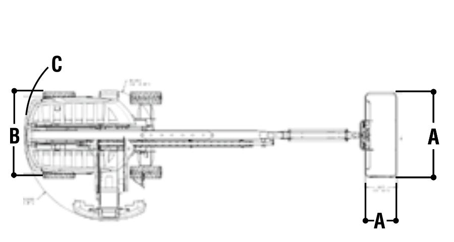 JLG 660SJ Dimensions (2)