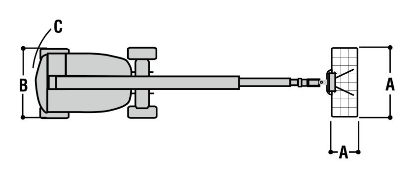 JLG 860SJ Dimensions (1)