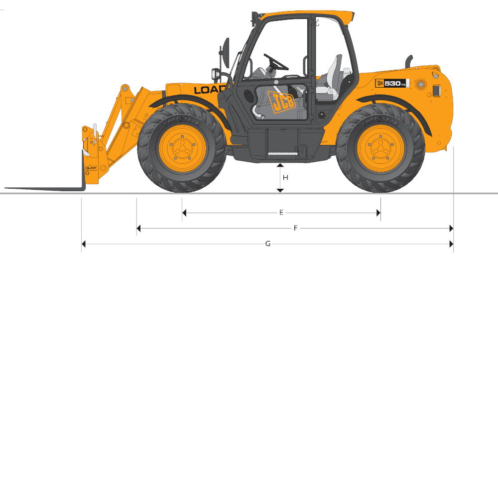 JCB TH 530-110 Dimensions (2)