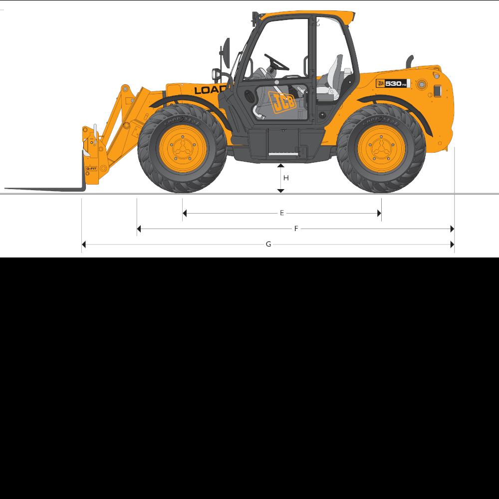 JCB TH 530-70 Dimensions (2)